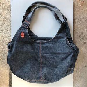 Timbuk2 Blue Jean Denim Hobo Travel Bag